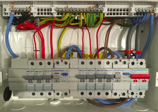 Modern Consumer Unit